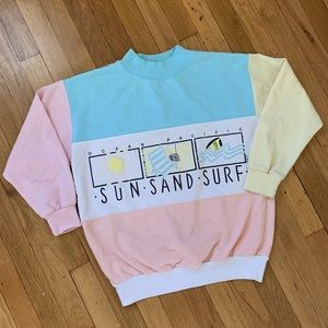 Pastel Ocean Pacific Sweatshirt